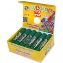 BARRA TEMPERA SOLIDA ONE 10G VERDE OSCURO PLAYCOLOR C/12 UD